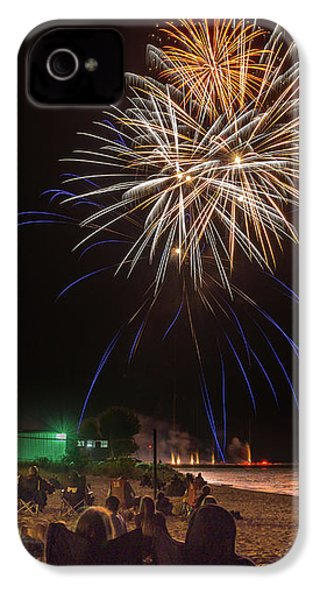 IPhone 4 Case featuring the photograph Colorful Kewaunee, Fourth by Bill Pevlor