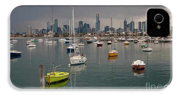 Colour Of Melbourne 2 IPhone 4 Case by Werner Padarin