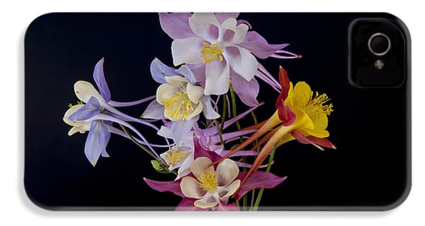IPhone 4 Case featuring the photograph Columbine Medley by Gary Lengyel
