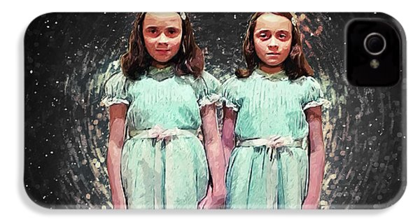 Come Play With Us - The Shining Twins IPhone 4 Case
