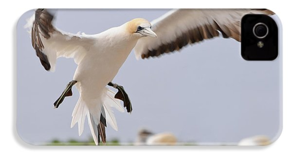 IPhone 4 Case featuring the photograph Coming In To Land by Werner Padarin