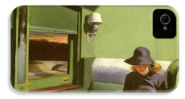 Compartment C IPhone 4 Case by Edward Hopper