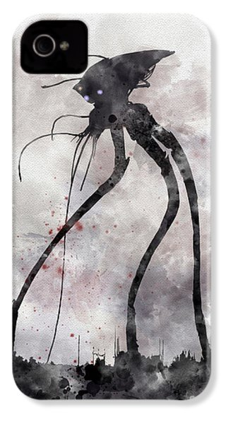 Conflict IPhone 4 Case by Rebecca Jenkins