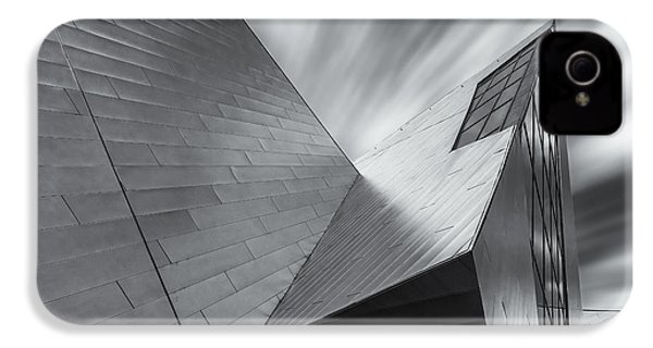 IPhone 4 Case featuring the photograph Contemporary Architecture Of The Shops At Crystals, Aria, Las Ve by Adam Romanowicz