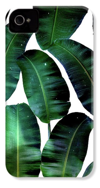 Cosmic Banana Leaves IPhone 4 Case