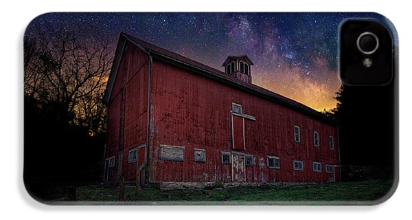 IPhone 4 Case featuring the photograph Cosmic Barn by Bill Wakeley