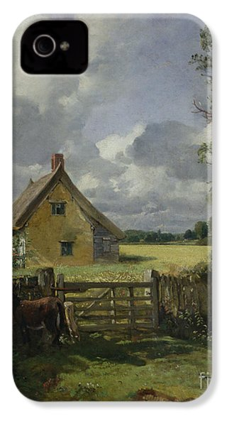 Cottage In A Cornfield IPhone 4 Case