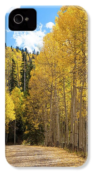 IPhone 4 Case featuring the photograph Country Roads by David Chandler