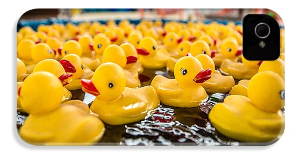 County Fair Rubber Duckies IPhone 4 Case by Todd Klassy