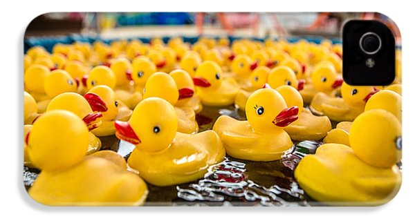 County Fair Rubber Duckies IPhone 4 / 4s Case by Todd Klassy