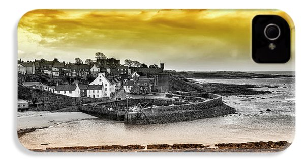 Crail Harbour IPhone 4 Case by Jeremy Lavender Photography