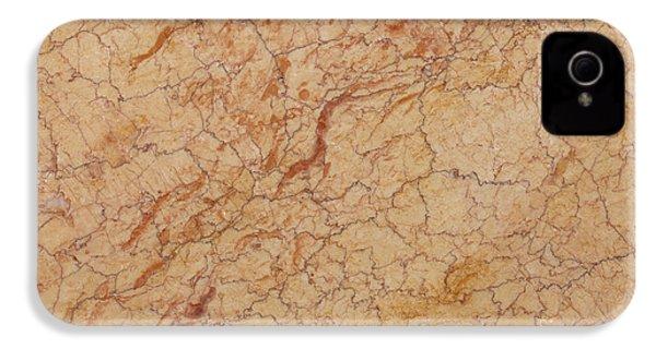 Crema Valencia Granite IPhone 4 Case by Anthony Totah
