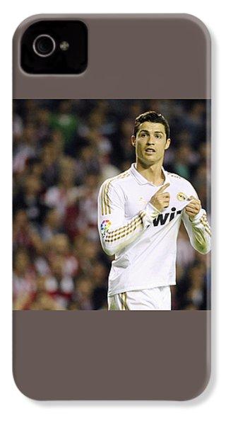 Cristiano Ronaldo 4 IPhone 4 / 4s Case by Rafa Rivas