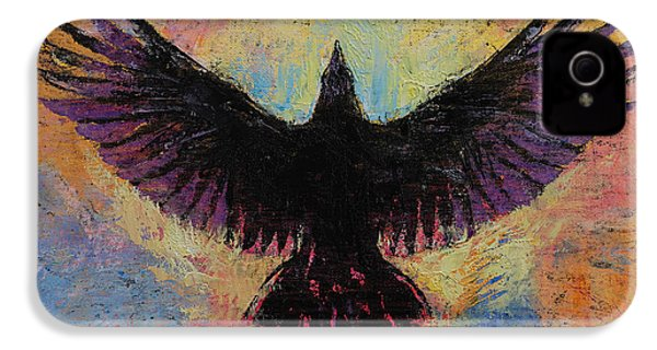 Crow IPhone 4 Case by Michael Creese