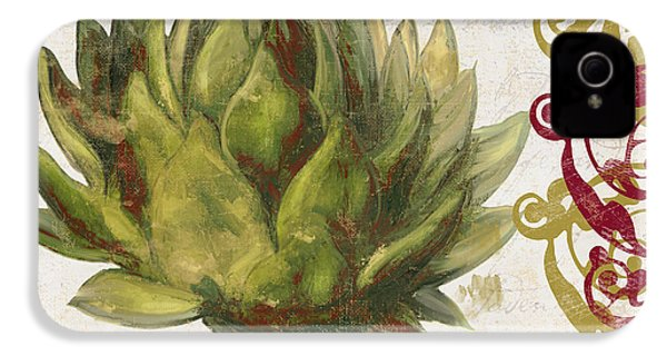 Cucina Italiana Artichoke IPhone 4 / 4s Case by Mindy Sommers