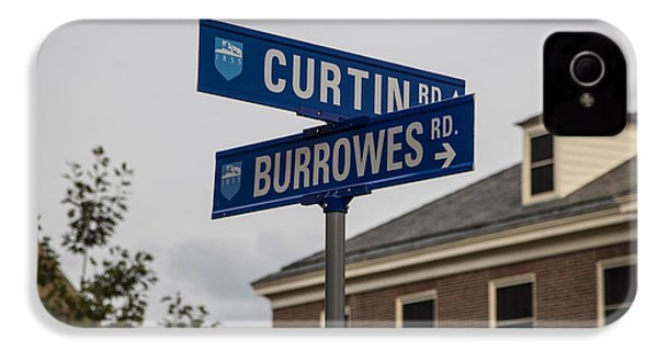 Curtin And Burrowes Penn State  IPhone 4 Case by John McGraw