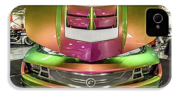 Custom Camaro IPhone 4 Case by Randy Scherkenbach
