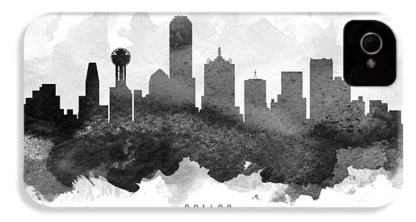 Dallas Cityscape 11 IPhone 4 Case