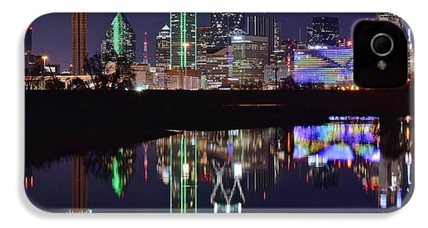 Dallas Reflecting At Night IPhone 4 Case