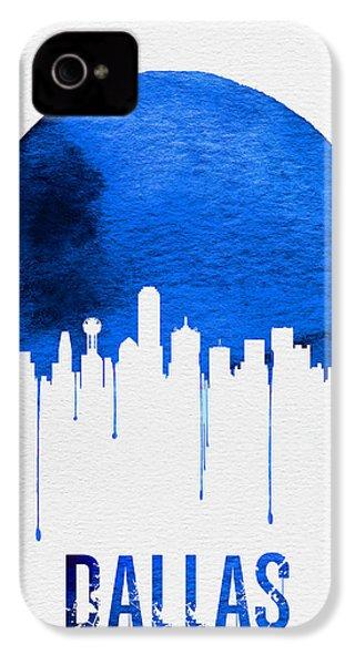 Dallas Skyline Blue IPhone 4 Case