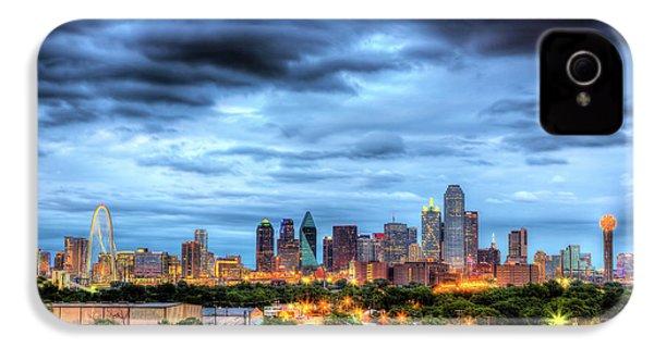 Dallas Skyline IPhone 4 Case