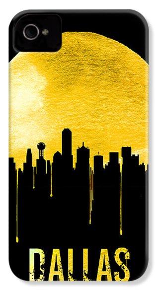 Dallas Skyline Yellow IPhone 4 Case