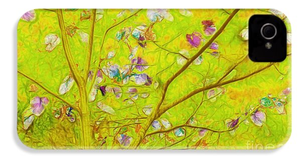 Dancing In The Wind 01 - 343 IPhone 4 Case by Variance Collections