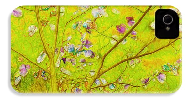 Dancing In The Wind 01 - 343 IPhone 4 / 4s Case by Variance Collections