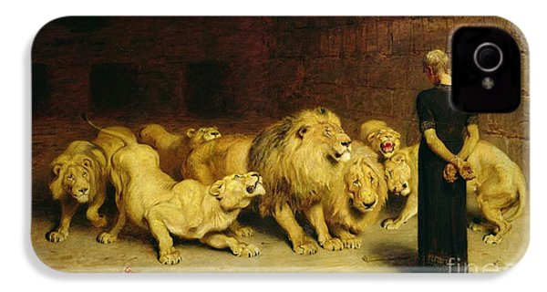 Daniel In The Lions Den IPhone 4 / 4s Case by Briton Riviere