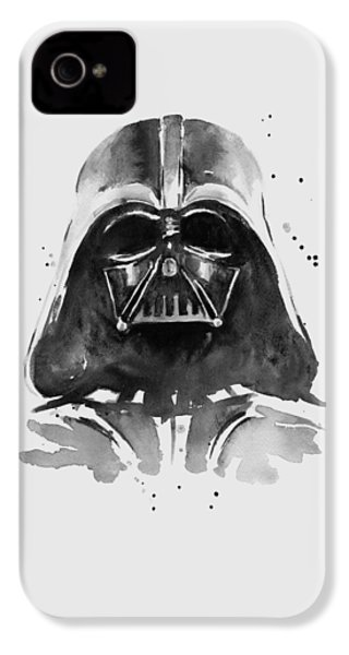 Darth Vader Watercolor IPhone 4 Case