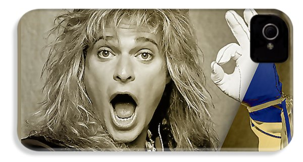 David Lee Roth Collection IPhone 4 Case by Marvin Blaine