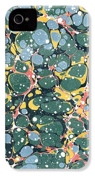 Decorative Endpaper IPhone 4 Case by Unknown