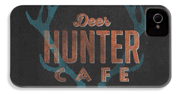 Deer Hunter Cafe IPhone 4 Case by Edward Fielding