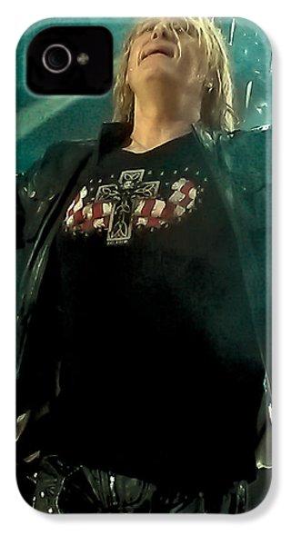 Def Lappard's Joe Elliott IPhone 4 Case by David Patterson
