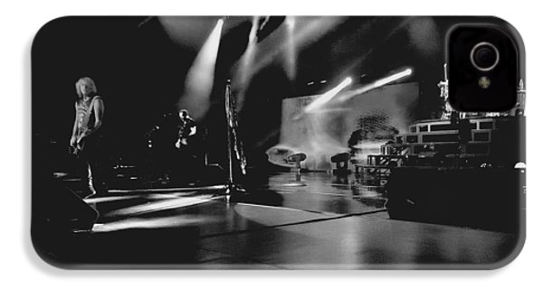 Def Leppard At Saratoga Springs 2 IPhone 4 / 4s Case by David Patterson
