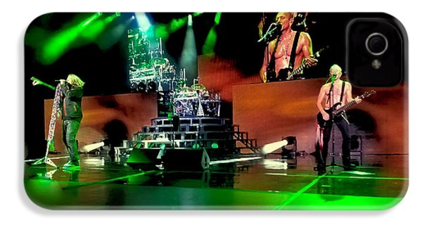 Def Leppard On Stage IPhone 4 Case by David Patterson