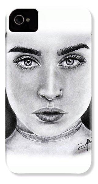 Lauren Jauregui Drawing By Sofia Furniel  IPhone 4 Case
