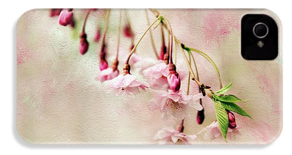 IPhone 4 Case featuring the photograph Delicate Bloom by Jessica Jenney