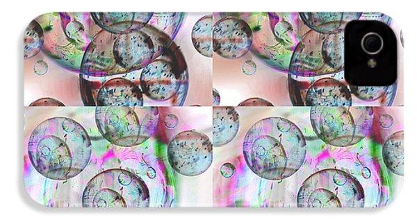 Delicate Bubbles IPhone 4 Case by Nareeta Martin