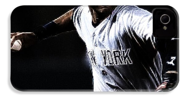 Derek Jeter IPhone 4 / 4s Case by Paul Ward