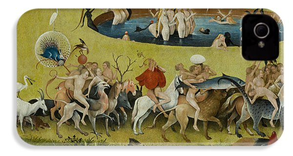 Detail From The Central Panel Of The Garden Of Earthly Delights IPhone 4 / 4s Case by Hieronymus Bosch