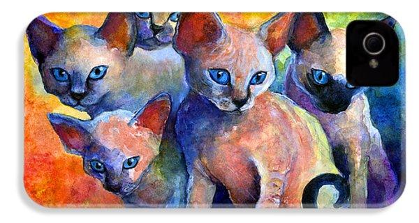 Devon Rex Kitten Cats IPhone 4 Case