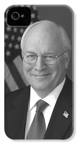 Dick Cheney IPhone 4 Case by War Is Hell Store