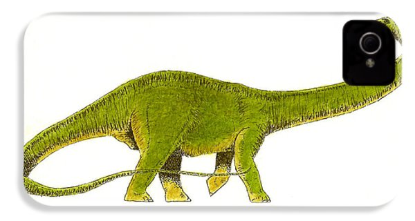 Diplodocus IPhone 4 / 4s Case by Michael Vigliotti