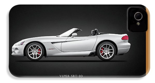 Dodge Viper Srt10 IPhone 4 Case by Mark Rogan