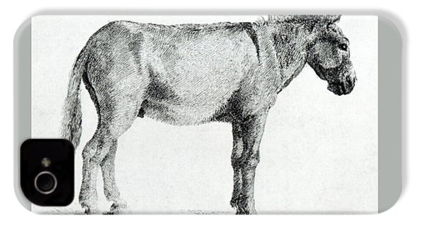 Donkey IPhone 4 Case by George Stubbs