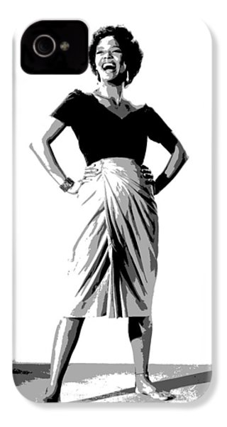 Dorothy Jean Dandridge IPhone 4 / 4s Case by Charles Shoup