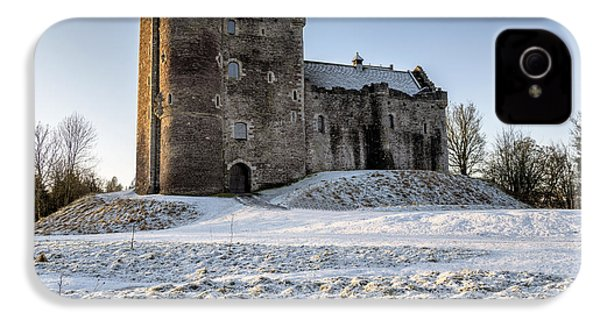 Doune Castle In Central Scotland IPhone 4 Case by Jeremy Lavender Photography
