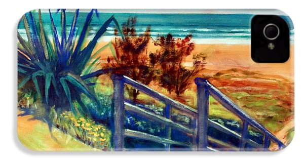 Down The Stairs To The Beach IPhone 4 Case by Winsome Gunning