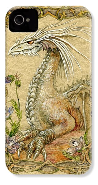 Dragon IPhone 4 Case by Morgan Fitzsimons